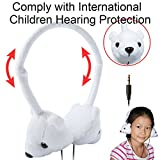 Dairle On Ear Kids Headphone (No MIC),Wired Children Headphone Adjustable Headband Size with 3.5mm General Plug for Tablet PC, Smart Cellphone, Computer