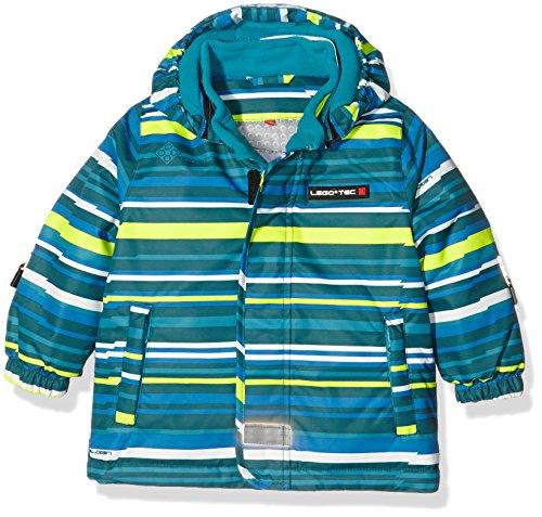 LEGO Wear Jungen Jacke Duplo Tec Javier 673-Winterjacke/Skijacke, Grün (Green 896), 98