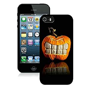 linJUN FENGProvide Personalized Customized Iphone 5S Protective Cover Case Halloween iPhone 5 5S TPU Case 15 Black