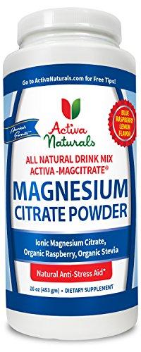 Magnesium Citrate Powder Supplement Supplements