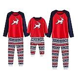 Family Matching Pajamas Sets Christmas Pajamas Outfit Deer Print Holiday Clothes PJ Sets Baby Kids Boys Girls Sleepwear