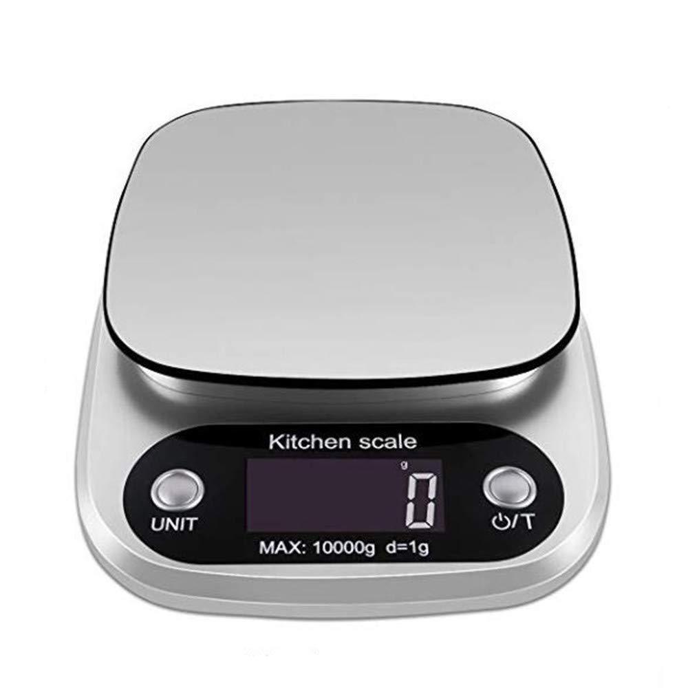 Cucsaist Báscula De Cocina Digital, Báscula De Peso para Alimentos, Báscula De Cocina Electrónica con Función De Tara para Hornear Y Cocinar, 22 LB / 10 Kg, ...