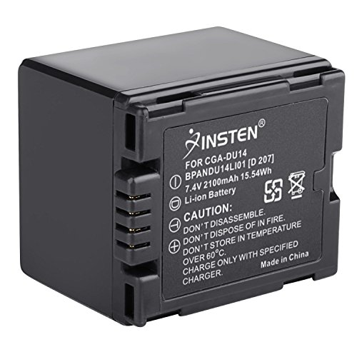 Insten Camcorder Battery Compatible with PANASONIC CGR-DU06