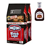 Kingsford Match Light Charcoal Briquettes, 11.6 lb - 2 Bag w/free 1 Barbecue Sauce