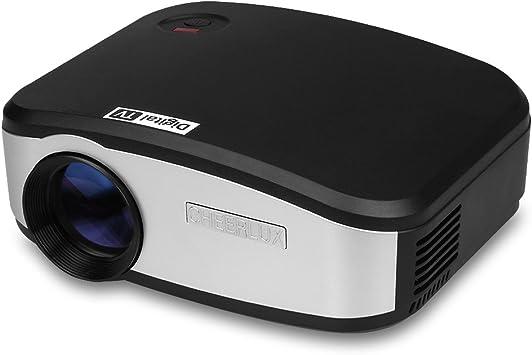 CHEERLUX C6 - Mini LED Proyector portátil Home Cinema (resolución ...