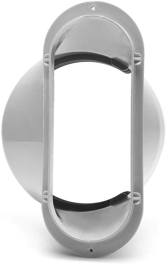 Adaptador de la Ventana//Placa del Kit de la supportable Panel del Adaptador de la Ventana del Aire Acondicionado Juego de Puertas corredizas de Vidrio heresell Soporte de la Ventana de Repuesto