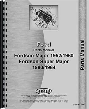 fordson super major serial number location