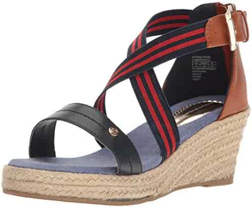 Tommy Hilfiger Kids Girls' Anastasia Rugby Wedge