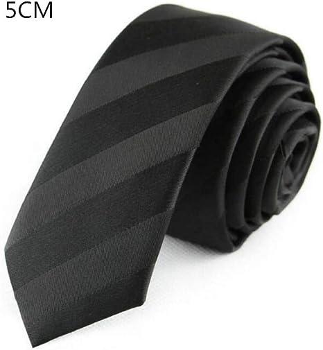 CNBB Corbata De 5 Cm Corbatas Flacas para Hombre De 59