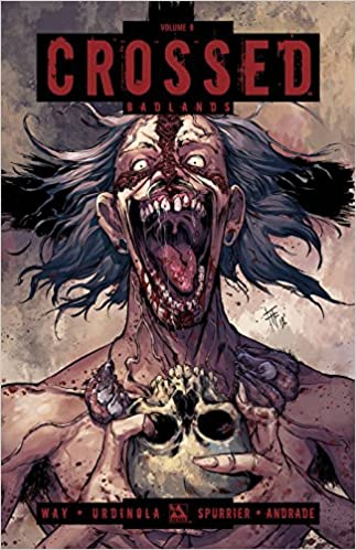 Special CROSSED VOLUME 9 GRAPHIC NOVEL New Paperback Collects Badlands #44-49