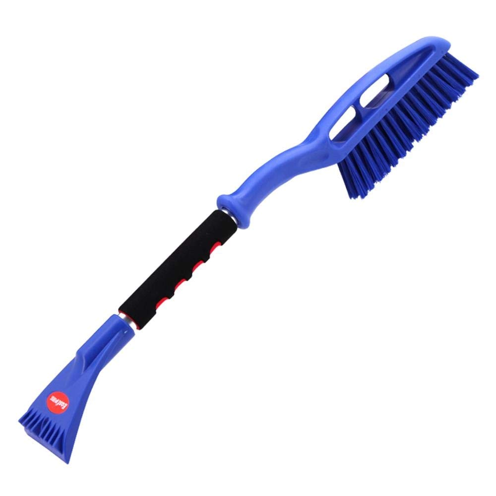 Woiitc Car Snow Shovel Does Not Hurt The Glass Deicing Snow Long Encryption Brush Fast Snow Tool Blue 1Pcs