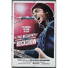 Rockshow (1980) Original One Sheet Poster (27x41) PAUL MC CARTNEY WINGS LINDA MC CARTNEY Concert Film Directed by MCCARTNEY