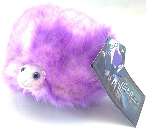 Universal Studios Wizarding World of Harry Potter 6'' Singing Purple Pygmy Puff Plush Toy with Sound