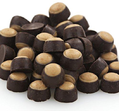- Mini Dark Chocolate Peanut Butter Buckeyes - 1lb