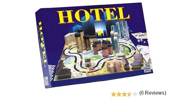 Hasbro - Hotel, Juego de Mesa (versión en alemán): Amazon.es ...