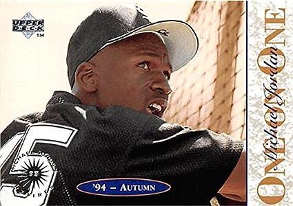 e76ed103f4d Michael Jordan basketball card (Chicago White Sox Baseball) 1995 Upper Deck   9