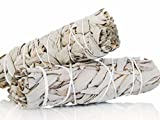 California White Sage Smudge Sticks 4''