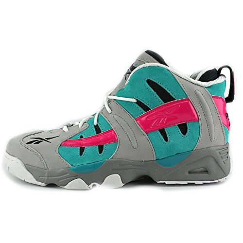 Rail Pink Switch Shoes Classic Reebok Fusion Tin Blue Basketball Men'S Grey U5Hqwq4fn