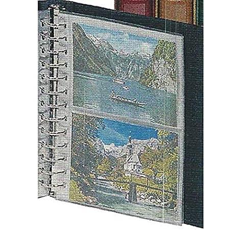 Lindner 811 Hojas Álbum para tarjetas postales CLASSIC: Amazon.es: Juguetes y juegos