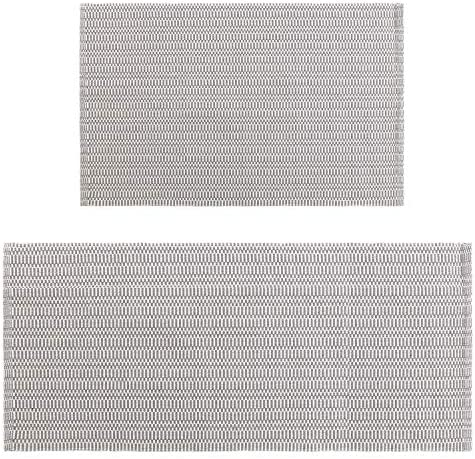 Cotton Area Rug Set 2 Piece 2 x3 2 x4.3