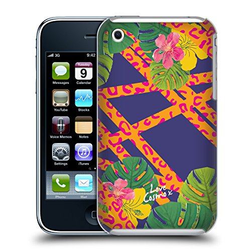 Official Cosmopolitan Leopard Tropical Hard Back Case for Apple iPhone 3G / 3GS