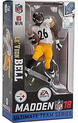 Le/'Veon Bell Pittsburgh Steelers Madden NFL 19 Ultimate Team Series 2 McFarlane