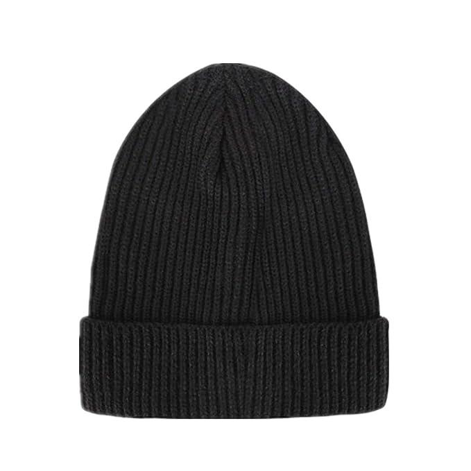 Men s Knitted Cap Winter Beanie Wool Fisherman Beanie Hat Retro ... eb8f30b2777