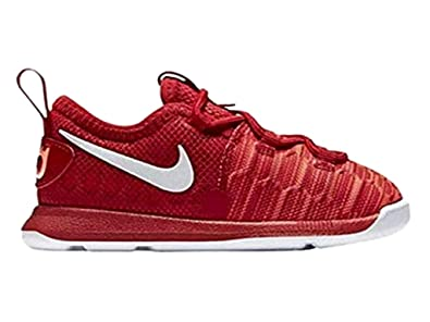cheap for discount ee920 2f5f3 Amazon.com | Nike Toddler KD 9 Red/White 855910 611 Size 6c ...
