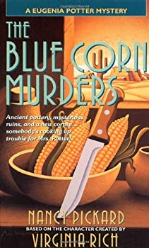 Blue Corn Murders: A Eugenia Potter Mystery 0440217652 Book Cover