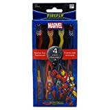 Marvel Heroes Toothbrush 4 Pack, 1.0 Count