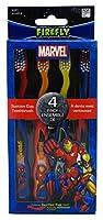Dr. Fresh Standing Toothbrush - Marvel Heroes - 4 pk
