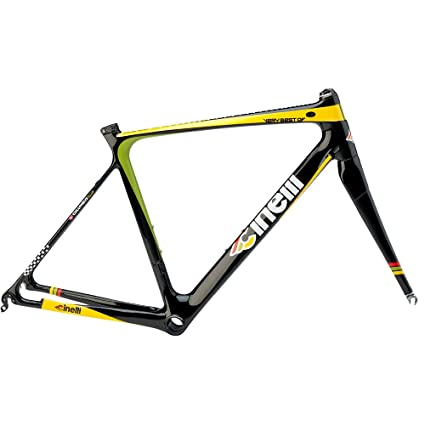 Amazon.com : Cinelli Men\'s Very Best Of carbon Bicycle Frame Set ...