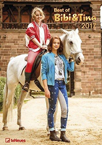 Bibi und Tina 2017 - Best of Kalender zum Film, Wandkalender, Fotokalender, Kinderkalender  -  29,7 x 42 cm