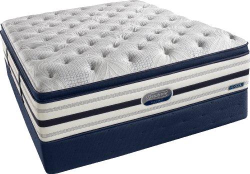 beautyrest recharge world class manorville luxury firm pillow top mattress set queen