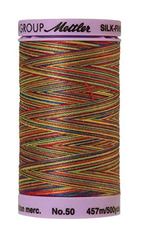 (Mettler Silk-Finish Variegated Cotton Thread, 500 yd/475m, Prime Kids)