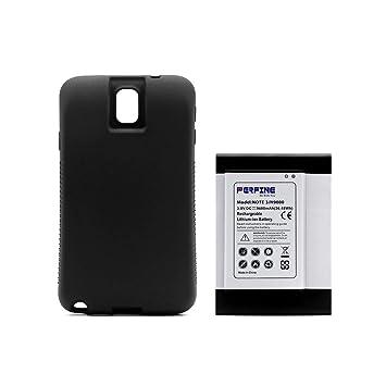 Perfine Galaxy Note3 Batería [9600mAh] Ampliada para Note III Galaxy N9000 N9005 N900A N9002 Batería Repuesto con Completo Borde Protección de TPU ...