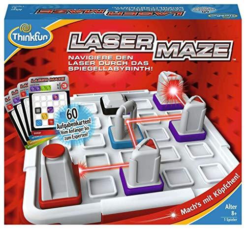 ThinkFun 76356 - Laser Maze™ - Das spannende Logikspiel mit echtem Laser ab 8 Jahren 1