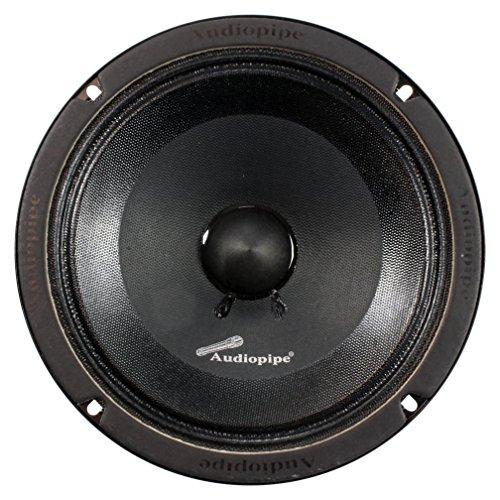 "6 Audiopipe APMB838SB-C 8"" 300W Speaker Low Mid Frequency Ca"