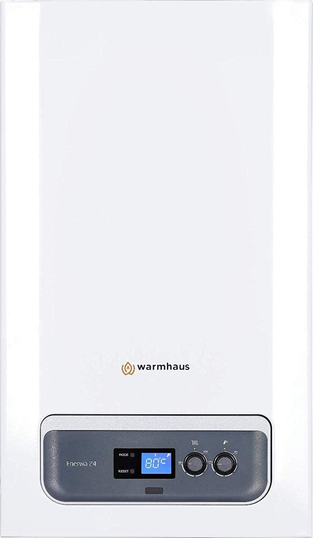 Caldera de condensación warmhaus enerwa 28KW, con Válvula Gas de adaptación GPL \ Metano + kit humos regalo