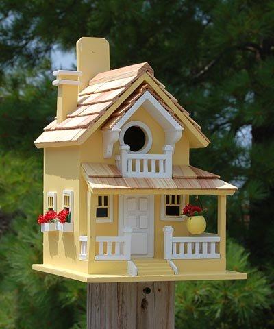 (Home Bazaar Backyard Bird Cottage, Yellow)