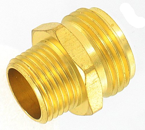 (Gilmour 3/4-Inch Hose to 1/2 Brass Pipe Connector 7MH7MP5P)