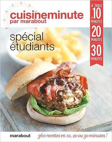 Livres gratuits en ligne Cuisine spécial étudiants epub pdf