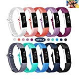 Wekin Replacement Bands Compatible with Fitbit ACE, Soft Silicone Sport Accessory Wristband Strap for ACE,Alta HR (not fit for ACE 2) Fitness Tracker Specially Designed for Kid's Wrist (5.0″-7.0″)