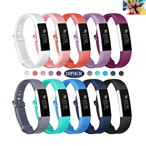 Wekin Replacement Bands Compatible with ACE, Soft Silicone Sport Accessory Wristband Strap for ACE,Alta HR Fitness Tracker Specially Designed for Kid's Wrist (5.0