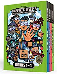 Minecraft Woodsword Chronicles Box Set Books 1-4 (Minecraft)