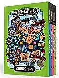 Minecraft Woodsword Chronicles Box Set Books 1-4