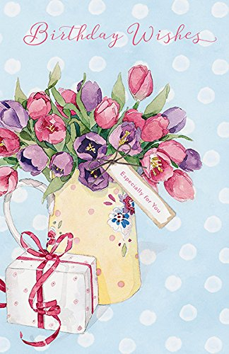 Image Unavailable Not Available For Color Tulip Bouquet Birthday Wishes