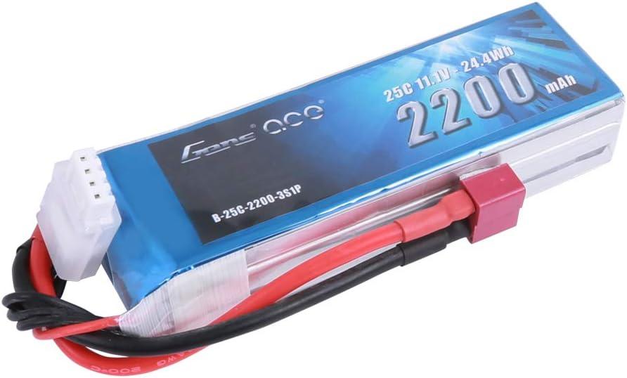 Bateria LiPo de 2200mAh 25C 3S 11.1V conector Deans Plug