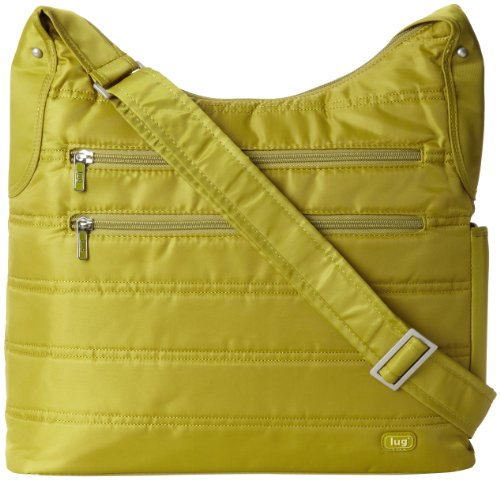 Lug Cable Car Satchel, Grass Green, One Size, Bags Central