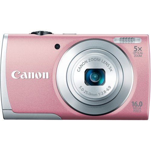 Canon PowerShot A2600 IS 16.0 MP Digital Camera with 5x Opti
